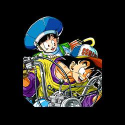 Father and Son's Day Off Goku & Gohan (Kid)