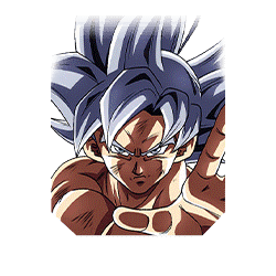 Silver-Gleaming New Form Goku (Ultra Instinct)