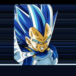 New Form Beyond Blue Super Saiyan God SS Evolved Vegeta