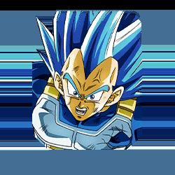Evolution of Divine Force Super Saiyan God SS Evolved Vegeta