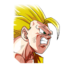 Resolve for the Final Battle Super Saiyan 3 Goku