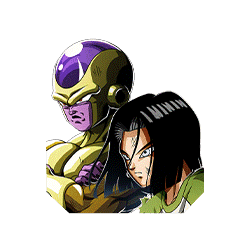 Very Last Possibility Golden Frieza (Angel) & Android #17
