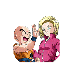 Fruits of Training With Family Krillin & Android #18