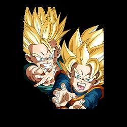 Pint-Sized Super Warriors Super Saiyan Trunks (Kid) & Super Saiyan Goten (Kid)