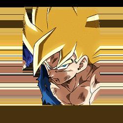 Final Battle on Planet Namek Super Saiyan Goku