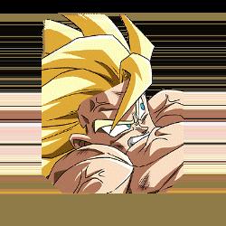 An Epic and Deadly Showdown Super Saiyan Goku